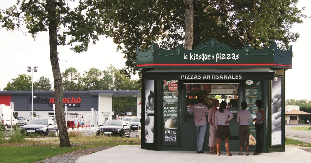 Le kiosque a pizza intermarche